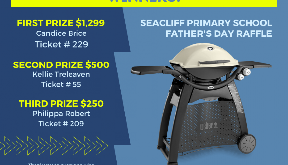 Father's Day Raffle Winners Post